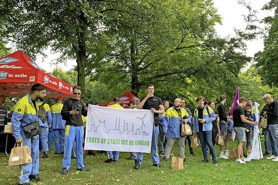 Demonstratie op de Koekamp in Den Haag.