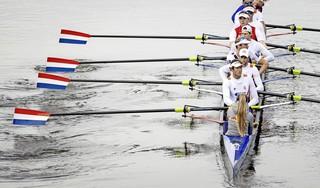 Roeier Bram Schwarz uit Haarlem naar finale van Spelen met Holland Acht
