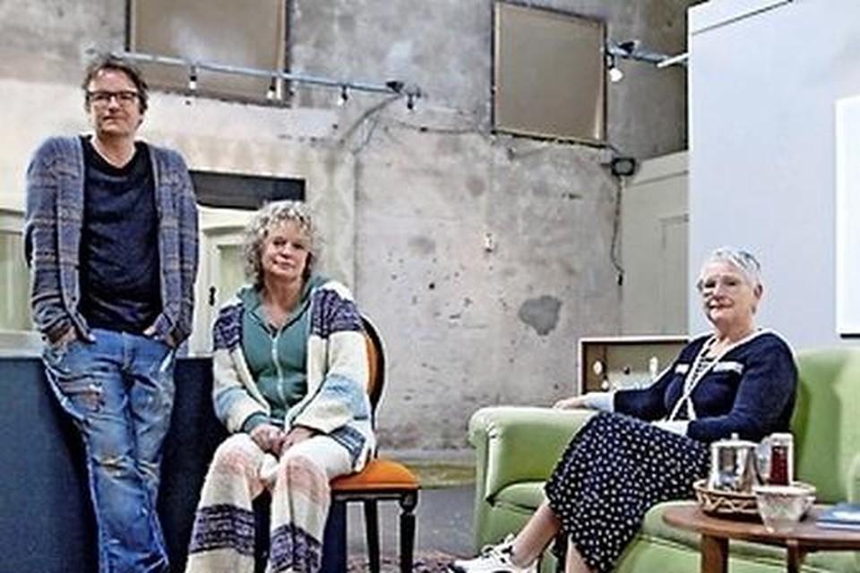 Jeroen Effren, Annalinda Wagenaar en Sasja Wagenaar vormen samen kunstenaarscollectief Wagenaar van Co.