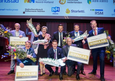 Karsten Tenten jaar na grote brand winnaar publieksprijs Ondernemingsverkiezing Noord-Holland