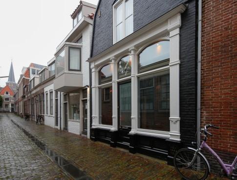 Verliefd op de gevel van een woning in hartje Hoorn