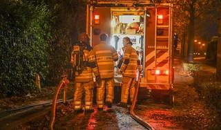 Opnieuw brand in villa in Bussum die eerder volledig verwoest werd