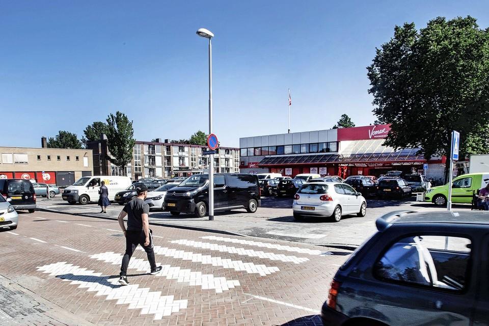 De Vomar Voordeelmarkt aan de Kennemerlaan in IJmuiden.