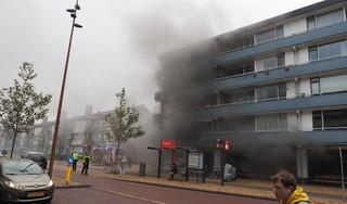 Brand in winkel aan Lange Nieuwstraat in IJmuiden