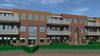 Eerste paal appartementencomplex Hartekamp. Toekomstige bewoner Karel kan niet wachten: 'Ik wil rood met wit zeil op de grond'