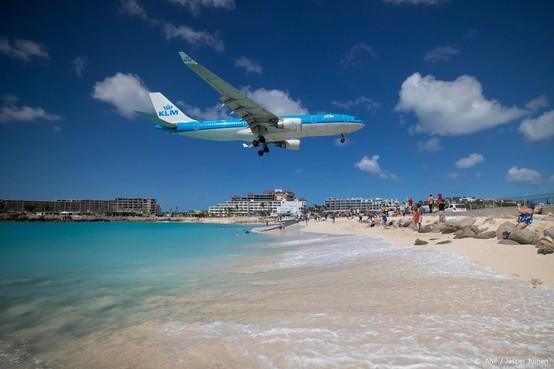 Passagiers KLM-vlucht vast op Sint-Maarten