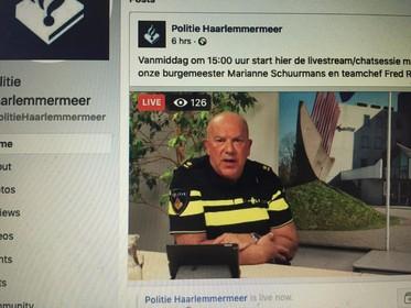 Politie Haarlemmermeer houdt vragenuur op facebook: Groepen jongeren op straat baart veel mensen zorgen [video]