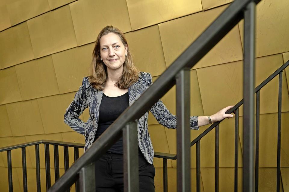 Anna Roukens. ,,Bij een vaccinatie in de de bovenarmspier gaat eigenlijk wat effectiviteit van het vaccin verloren.''