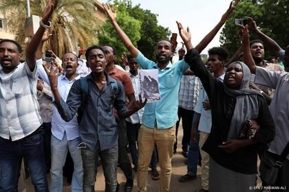 Demonstranten Soedan willen doden vergelden