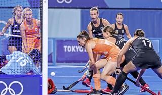 Bondscoach Annan van de hockeyvrouwen geeft zelden complimentjes, maar na het duel met Nieuw-Zeeland doet ze dat wel. 'Dit was een heel fijne wedstrijd' [video]