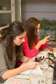 Smartphone grootste ergernis tijdens kerst