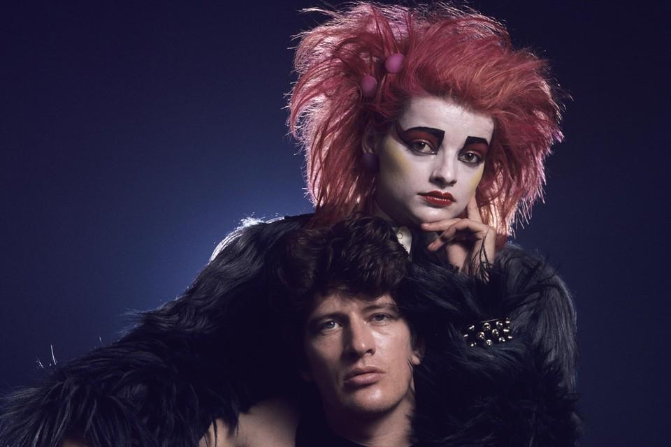 Herman Brood en Nina Hagen, ten tijde van de opnames van Cha Cha in 1979.