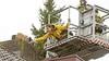 Brandweer redt kat van dak in Baarn, baasje dolgelukkig na onfortuinlijke en koude nacht