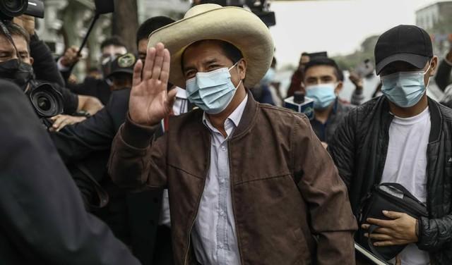 Linkse Castillo claimt overwinning presidentsverkiezingen Peru