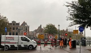 Onderhoud aan Melkbrug in Haarlem: tijdelijk omlopen en -fietsen