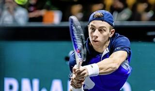 Tennisser Tallon Griekspoor pakt eerste overwinning sinds hij Raemon Sluiter als coach heeft aangesteld