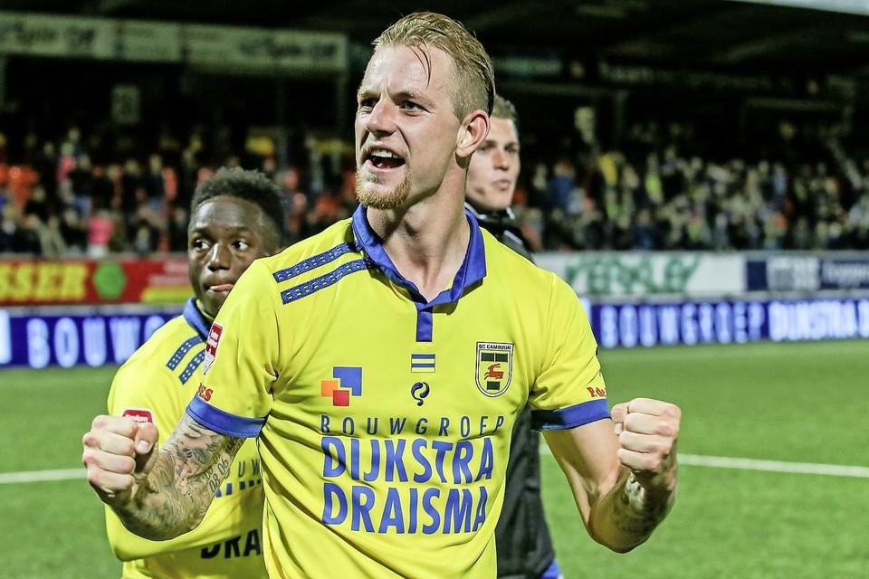 Kevin van Kippersluis, toen bij SC Cambuur.