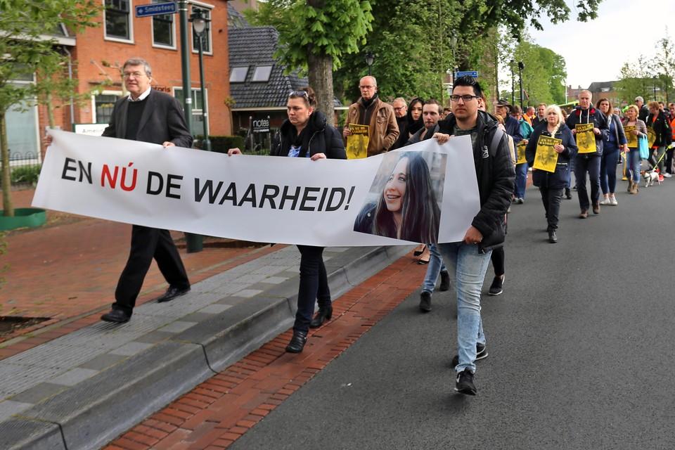 In april werd een protestmars gehouden in Hilversum, omdat de dood van Dascha Graafsma eind november 2015 nog altijd niet is opgehelderd.