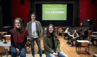 Pandemie geeft jaarlijkse Coornhert soap een ander tintje: Crisis in de Corenhart wordt online serie