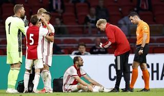 Daley Blind traint na medisch onderzoek weer voluit mee bij Ajax