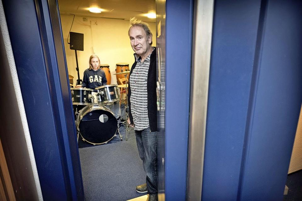 Hein Pijnenburg, directeur van de Wereldmuziekschool.
