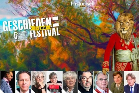 Lange lustrumeditie Geschiedenis Festival in Philharmonie Haarlem