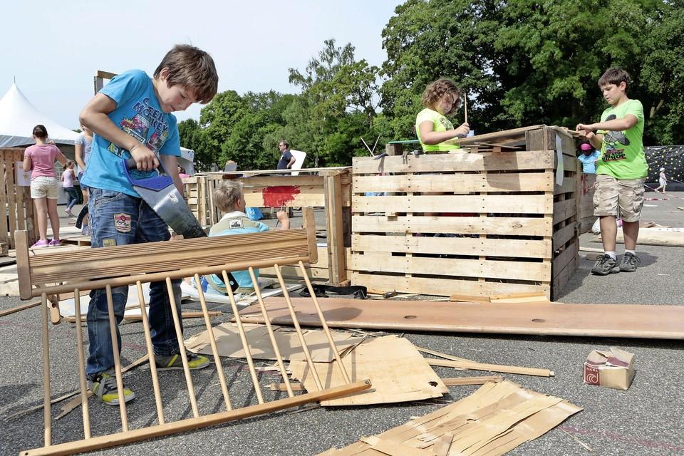 Het Soester Huttenbouwdorp is al heel lang een populair uitje in de zomer.