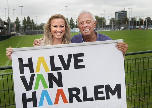 Familie-element uit 35 jaar edities bij Halve van Haarlem