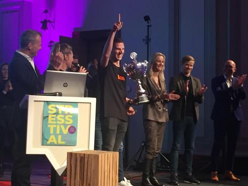 Jan Lunenburg wint eerste NK stress
