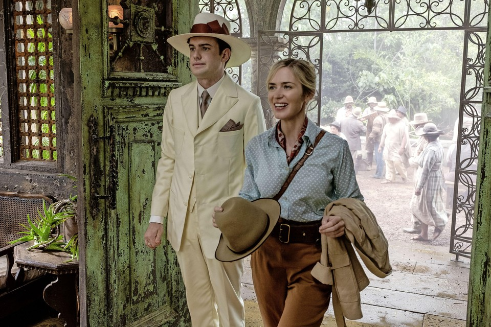 Jack Whitehall end Emily Blunt in 'Jungle cruise'.