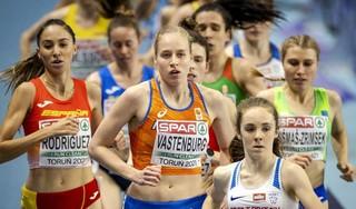 Jip Vastenburg gediskwalificeerd bij EK indoor. Loosdrechtse atlete overschreed de witte lijn aan de binnenzijde, bleek na haar serie-optreden op de 3000 meter