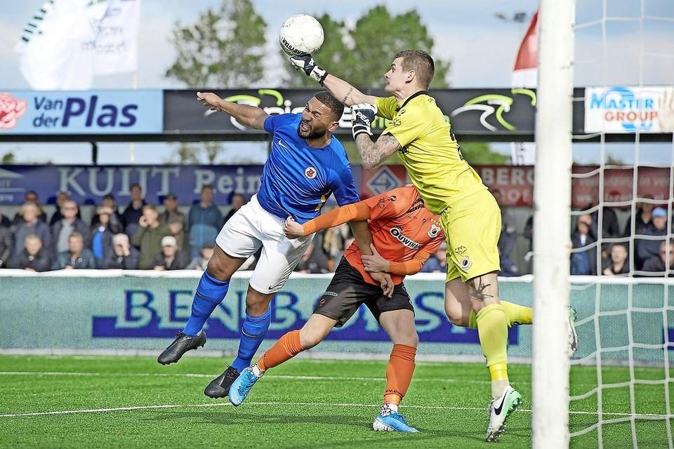 Zaterdagmiddag wordt aan de Zuidas de topper tussen het Amsterdamse AFC en Katwijk, de twee meest recente kampioenen van de tweede divisie, gespeeld.