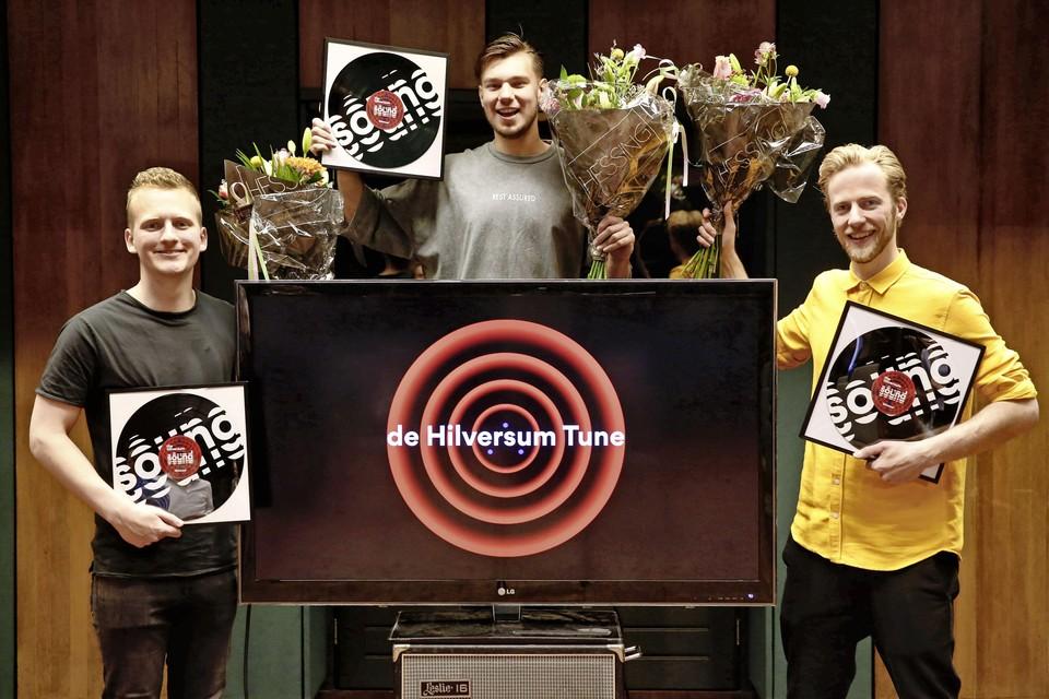Het drietal dat de Hilversum Tune componeerde.