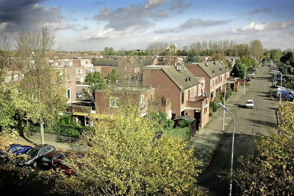 Voorzieningen en weten in wijken als Pax en Bornholm (hier in 2005) zijn versleten en moeten worden vervangen. Haarlemmermeer heeft daar geen geld voor opzij gelegd.