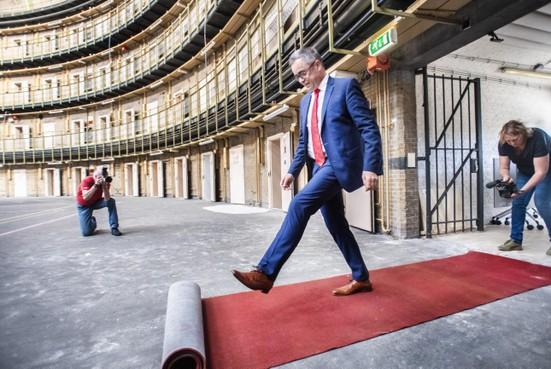 Rode loper voor nnieuwe toekomst Haarlemse Koepelgevangenis: hoger en acadamisch onderwijs