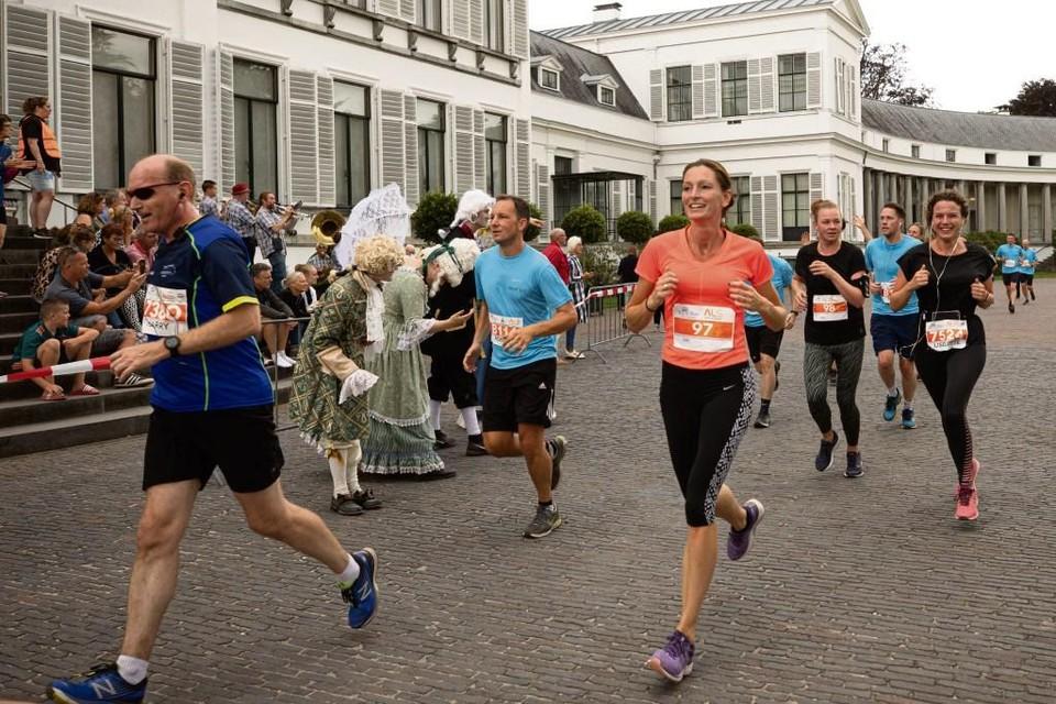 Bij activiteiten als onder meer de Royal Run is Paleis Soestdijk nog wel open voor publiek.
