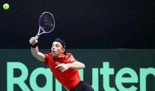 Tennisser Griekspoor uitgeschakeld op Roland Garros