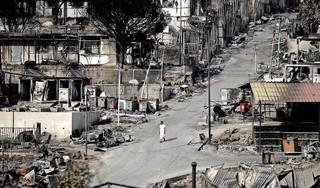 Vluchtelingen Moria mogen niet weg en mogen niet blijven