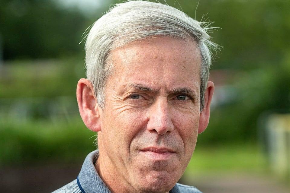 André Burger, raadsnestor van Bloemendaal.