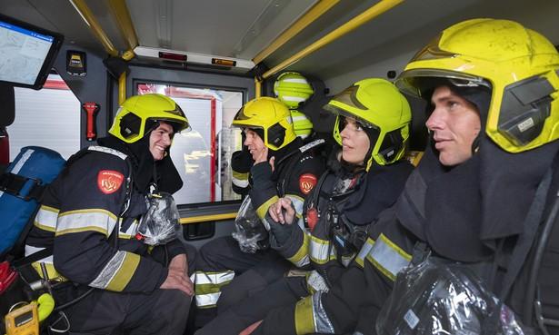 Ochtend meelopen op Haarlemse kazerne: 'Brandweerman altijd zonder baard'