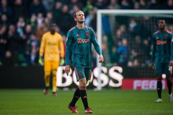 Siem de Jong kan langverwachte kans bij Ajax niet grijpen