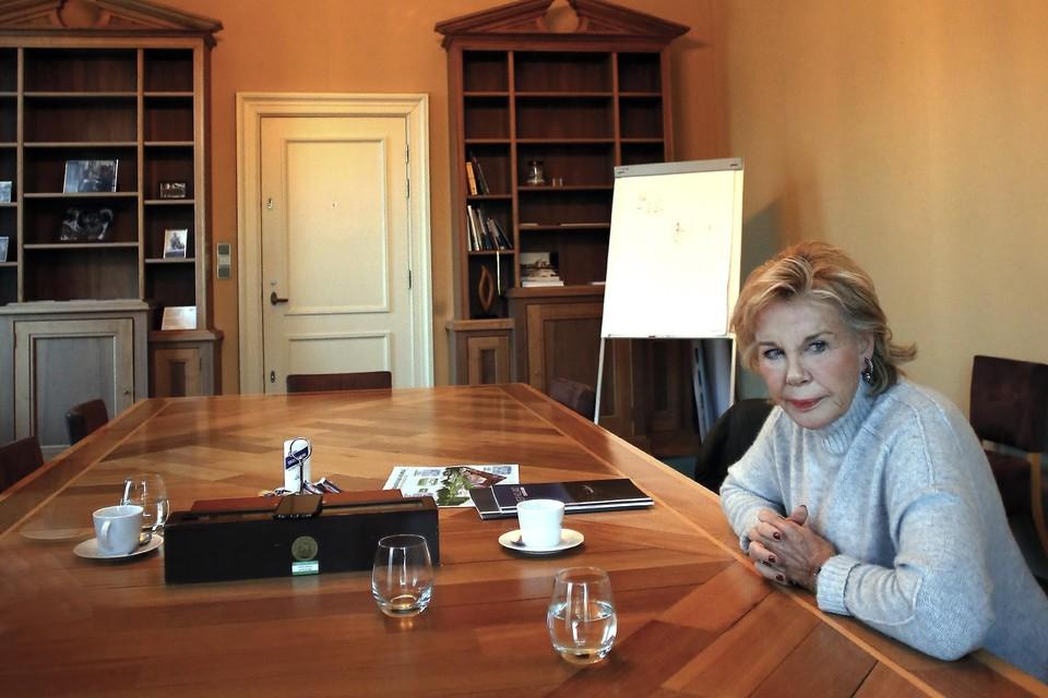 Maya Meijer is kunsthistorica en wil Paleis Soestdijk dolgraag restaureren.