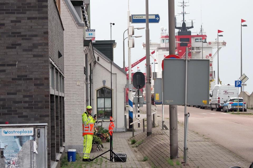 Rijkswaterstaat voerde geluidsmetingen uit.