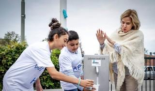 Van Nieuwenhuizen opent kraanwaterdag