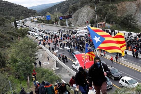 Betogers blokkeren snelweg Frankrijk-Spanje