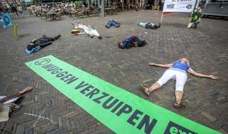 Negen man bij Extinction Rebellion protest: 'Vanaf september willen we ons meer mengen in de lokale politiek'