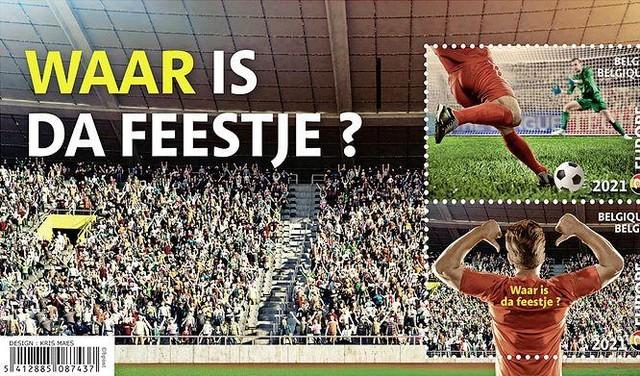Hoe 'Waar is da feestje?' van een Belgische schoolklas terechtkwam in de microfoon van Eden Hazard op de Grote Markt [video]
