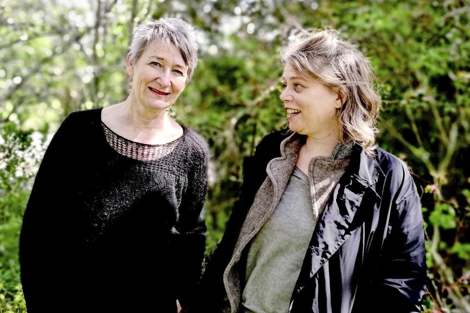 Aureen Harthoorn en Miriam de Koning