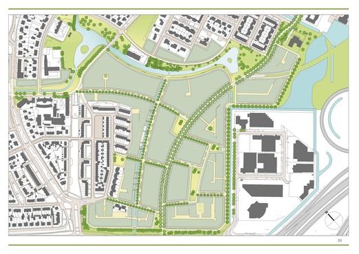 Plan Badhoevedorpse wijk Schuilhoeve aangepast