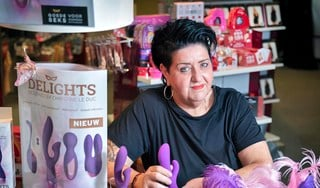 Bij Audrey van Ham lopen de klanten altijd opgewonden de erotiekwinkel uit